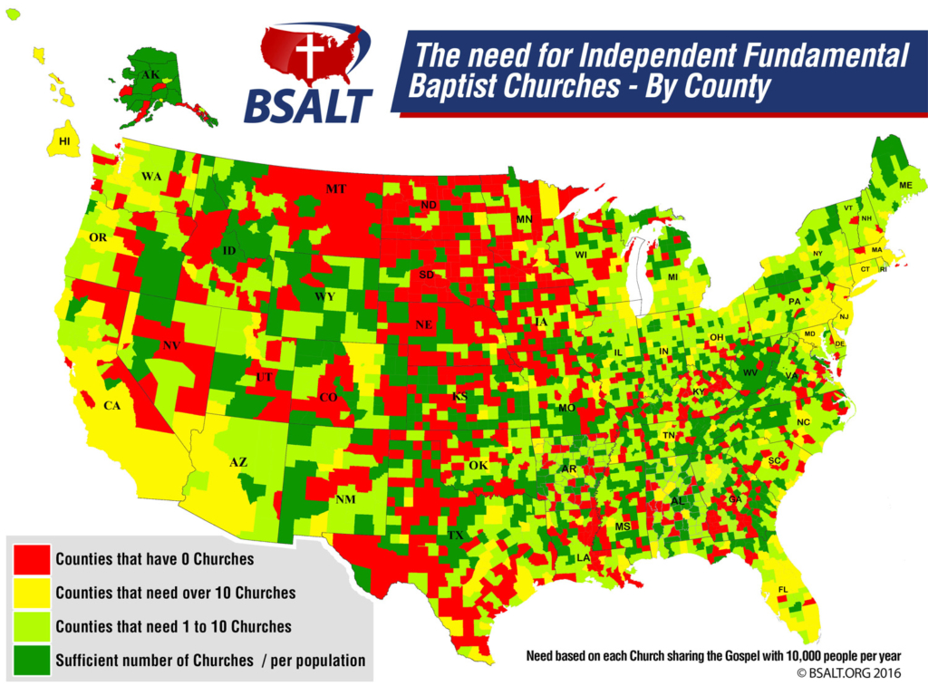 BSALT US Map